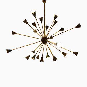 Mid-Century Italian Sputnik Pendant Lamp, 1950s