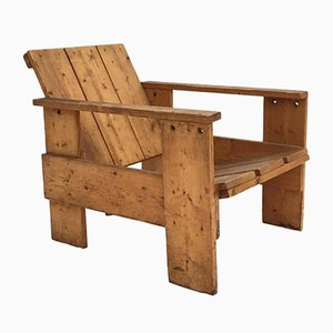 Vintage Crate Chair by Gerrit Rietveld
