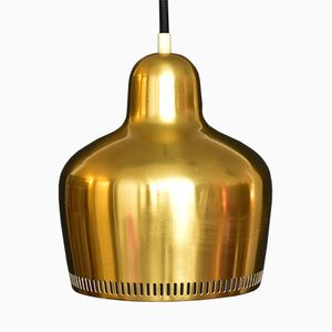 Vintage A330 Suspension Golden Bell by Alvar Aalto for Louis Poulsen, 1937