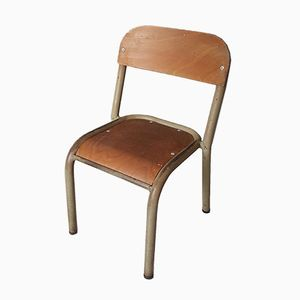 Schultisch mit stuhl  Französischer Vintage Schultisch & Stuhl, 1950er bei Pamono kaufen