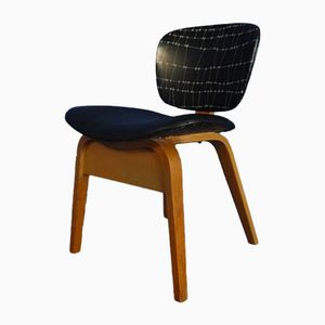 Mid-Century German Plywood Chair, 1950s