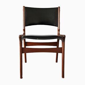 Mid-Century Palisander Stuhl von Erik Buch für Nova