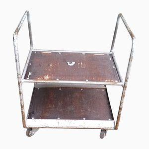 Mid-Century Industrial Tubular Steel Cart
