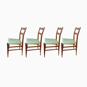 Model 646/3 Chairs by Gio Ponti for Cassina, 1954, Set of 4