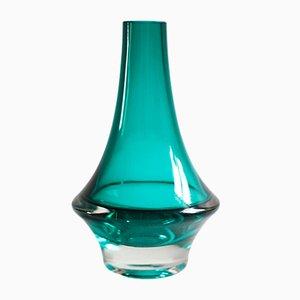 Mid-Century Finnish Glass Vase by Erkkitapio Siiroinen for Riihimäen Lasi Oy