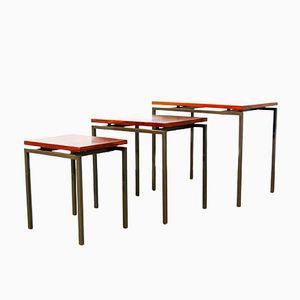 Tables Gigognes en Palissandre, Pays-Bas,1960s