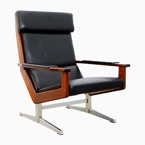 Mid-Century Dutch Lounge Chair by Rob Parry for Gelderland, 1950s
