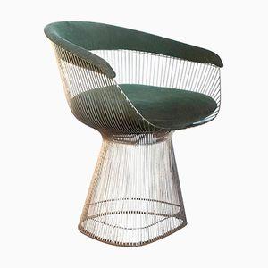 Model 1725A Side Chair in Green by Warren Platner for Knoll International, 1966