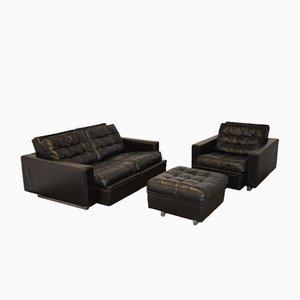 DS 3A New Yorker Reclining Sofa Set from de Sede, 1970s