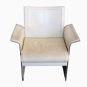Vintage Korium Armchair in Leather by Tito Agnoli for Mattéo Grassi