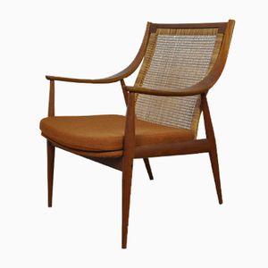 Danish Easy Chair by Peter Hvidt & Orla Molgaard-Nielsen for France & Son, 1950s