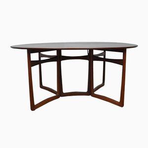 Gateleg Table by Peter Hvidt & Orla Molgaard-Nielsen for France & Søn, 1950s