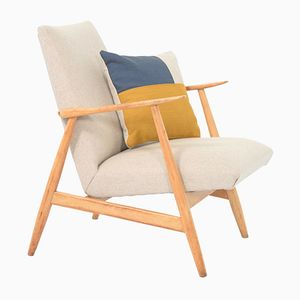 Petit Armchair with Pillow, 1950s