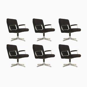 P125 Stühle von Osvaldo Borsani für Tecno, 1970s, 6er Set