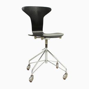 Sedia 3115 Mosquito di Arne Jacobsen per Fritz Hansen, anni '50