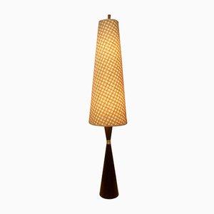 Danish Palisander Floor Lamp, 1960s