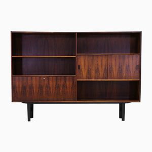 Danish Rosewood Highboard by Erik Jensen for Westergaards Møbelfabrik, 1970s