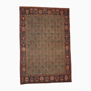 Antique Persian Farahan Handmade Rug, 1860s