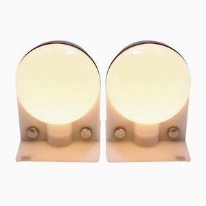 Tischlampen von Brazzoni für Sirio Guzzini, 1970er, 2er Set
