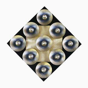 Wall Lighting Panel by Otello Ciullini, 1970s