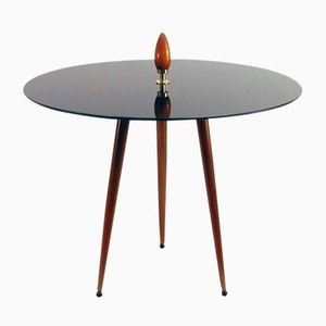 Mid-Century Scandinavian Tripod Side Table, 1950s