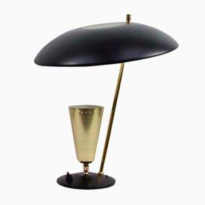 Lampe de Bureau Réfléchissante Vintage d'Aluminor, France, 1950s