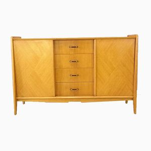 Vintage Light Oak Sideboard, 1950s