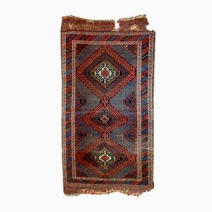 Antique Handmade Afghan Baluch Rug, 1900s