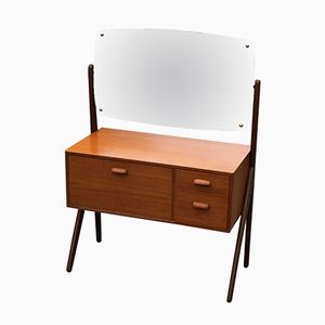 Vintage Make-Up Table with Mirror