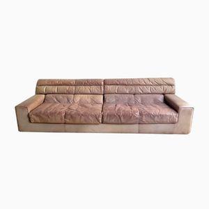 Vintage Large Leather Sofa