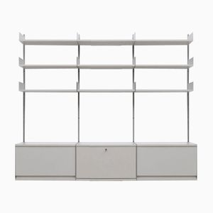 Vintage German Model 606 Shelving Unit by Dieter Rams for Vitsoe, 1960s