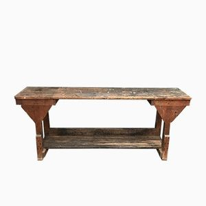 Tavolo da pasticceria vintage
