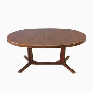 Vintage Scandinavian Rosewood Table from Baumann