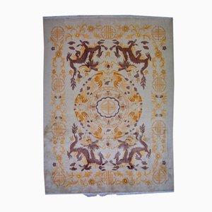 Handgeknüpfter Chinesischer Vintage Art Deco Teppich, 1930er