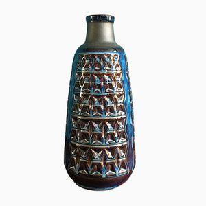 Große Dänische Mid-Century Keramik Vase von Einar Johansen für Soholm