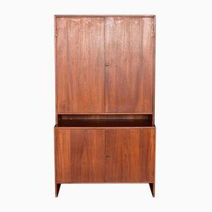 Mid-Century RY100 Teak Storage Cabinet by Hans J. Wegner for Ry Møbler