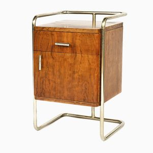 Vintage Tubular Bedside Table from Mücke-Melder