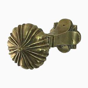 Österreichischer Mid-Century Hut- und Kleiderhaken aus Bronze