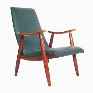 Mid-Century Armlehnstuhl von Louis van Teeffelen für Wébé