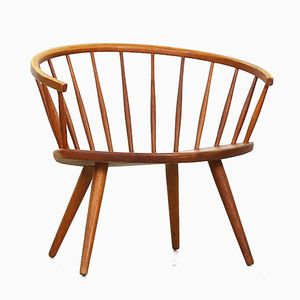 Mid-Century Arka Lounge Chair by Yngve Ekstrøm for Stolab
