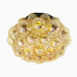 Large Mid-Century Ceiling Light by Helena Tynell for Glashütte Limburg