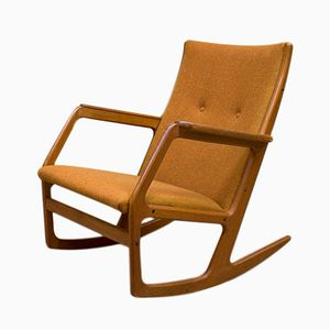 Mid-Century Rocking Chair by Georg Jensen for Kubus