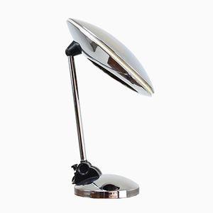 Lampe de Bureau en Chrome de Fase, Espagne, 1950s