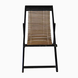 Mid-Century Chinese Adjustable Deck Chair, 1950s
