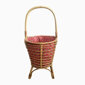 Rattan Sewing Box, 1960s
