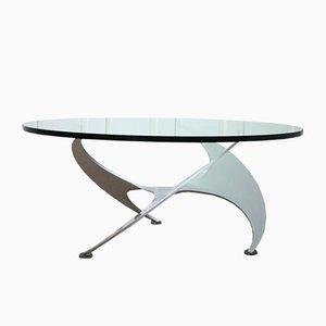 Table Basse Propeller Mid-Century par Knut Hesterberg pour Ronald Schmitt, 1960s