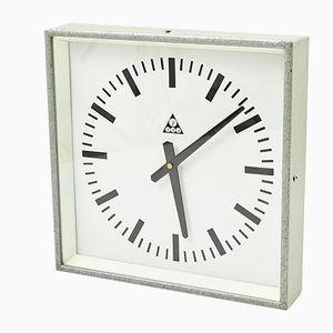 Horloge de Gare Vintage de Pragotron, République Tchèque