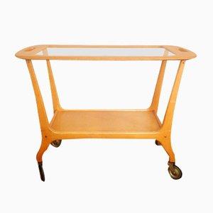 Mid-Century Scandinavian Serving Cart