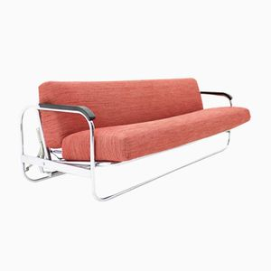Schlafsofa von Alvar Aalto für Wohnbedarf, 1970er
