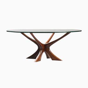 Table Basse Vintage par Illum Wikkelsø pour Søren Wiladsen